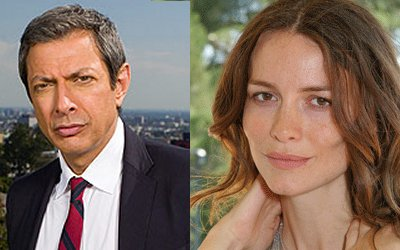 Jeff Goldblum and Saffron Burrows
