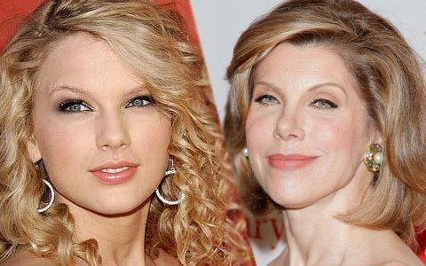 Christine Baranski and taylor swift