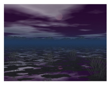 Midnight on the Moors - Art.com