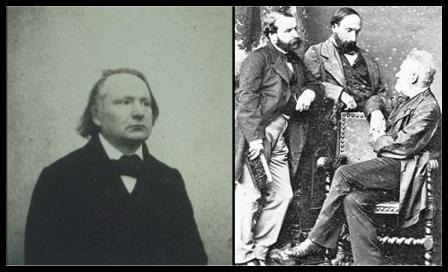 Victor Hugo, Francois Hugo, Auguste Vacquerie
